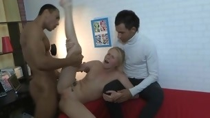 After having sex in this position cutie rides up his piece of meat and starts bounding on it.